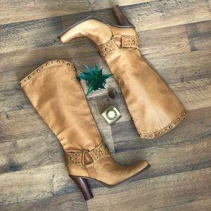 Antonio Melani Western Knee High Boots